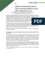 Postraglandinas- reporte de caso