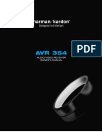 Harmon Karon AVR354 User Manuall