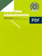 Guía para comandantes PMCSC