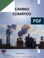 CAMBIO CLIMÁTICO TDA