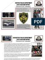 Saugerties Police Department 2019 Year-End Report