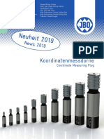 JBO - Coordinate measuring plug - 2019 D, EN