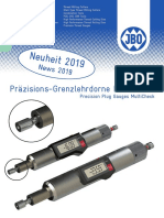 JBO - Precision plug gauges MultiCheck - 2019 D, EN