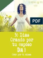 30 DÍAS ORANDO POR TU ESPOSO