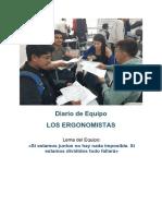 Diario colaborativo Ergonomia