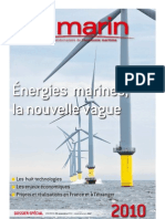 Energies marines, la nouvelle vague - Dossier spécial Le Marin 20101126