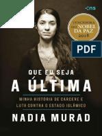 Que eu seja a ultima - Nadia Murad