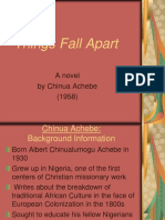 Things Fall Apart Powerpoint