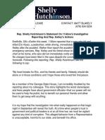 Hutchinson Campaign Statement Regarding 11Alive Investigative Reporting