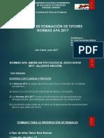Presentacion Normas APA 2017