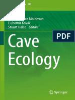 (Ecological Studies 235) Oana Teodora Moldovan, Ľubomír Kováč, Stuart Halse - Cave Ecology-Springer International Publishing (2018)