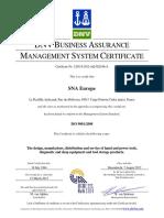 Certificado Bahco ISO 9001.pdf