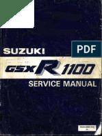 Suzuki GSX-R1100 '86-88 Service Manual