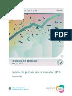 IPC- Enero 2020- INDEC
