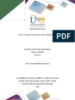 Tarea 1 - Formato - Reconocer los Conceptos sobre la Gestion Educativa - Avtividad Inicial.