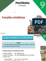 funções sintáticas1