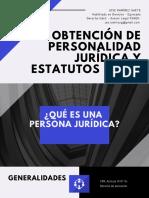 OBTENCIÓN DE PERSONALIDAD JURÍDICA Y ESTATUTOS FENEK