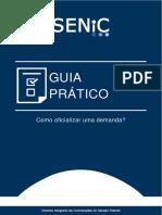 SENIC - Guia prático - Como oficializar uma demanda (08.08.2019)