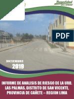 ANALISIS DE RIESGO - URB. LAS PALMAS