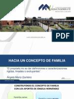 HACIA UN CONCEPTO DE FAMILIA. SEGUNDA SESIÓN