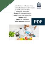 Inocuidad y control microbiano
