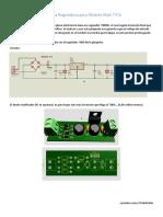 Plaqueta Reguladora Modulo Mp3 747d