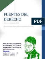 5 Introducción FUENTES DEL DERECHO