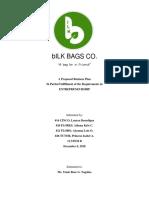 Sample Entrepreneurship Business Plan