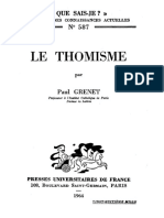 Paul Grenet - Le thomisme-Presses Universitaires de France (1964).pdf
