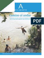 Camino al andar   Suplemento Río Abierto