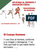 1. - Anatomía aplicada al deporte