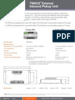 IPU Comparison Sheet