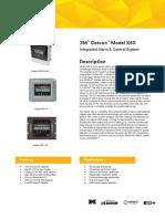 3M Detcon Alarm Monitor