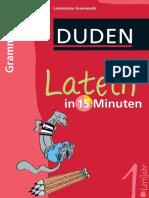 - Duden - Latein in 15 Minuten - Grammatik 1. Lernjahr-Bibliographisches Institut (2010)
