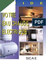 VOTRE EAU CHAUDE ELECTRIQUE