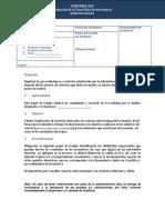 Programa de Auditoria para la Toma Fisica de Inventarios