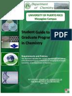 Graduate Student Manual