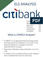 CAMELS Analysis OF CITI Bank