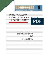 Filosofía Bachillerato 1º-Bach