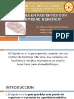 EXPOSICIÓN DE ANESTESIA VETERINARIA HEPÁTICO pptx