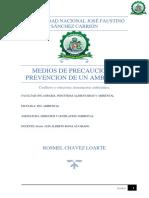 PRINCIPIOS Y MANERAS DE COMO PRESERVAR NUESTRO ECOSISTEMA. ECA - LMP. rosmel, ch.l