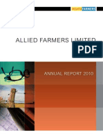 Allied Farmers Annual Report 2010