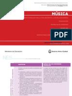 Diseño Curricular Música