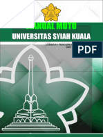 Manual Mutu Unsyiah