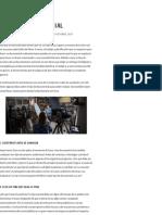 Concejos para el desarrollo del guion de un documental