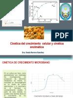 Semana 6 Cinética del crecimiento  celular y cinética enzimática