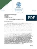 Bail Reform Letter