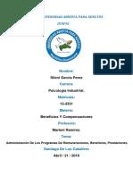 Beneficios Y Compensaciones, Trabajo Final. Sileni Garcia.1.docx