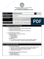 COURSE OUTLINE_ENTREP_T1_19-20 Revised 6.23.19