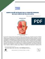 HERPES ZÓSTER OFTÁLMICO EN LA ATENCIÓN PRIMARIA  UN CASO CLÍNICO EN VILLA DE LEYVA
